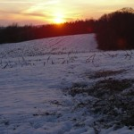 Sunsets on the 2012 hunting season