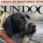 This is cover of August 2015 issue containing an article about Vic's turkey hunting.